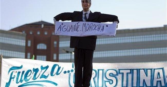 Argentine president awake, OK after cancer surgery