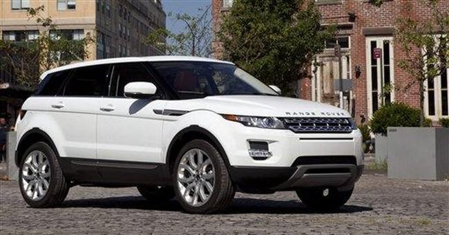 Range Rover boasts sleekest SUV
