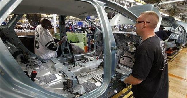 Factory orders increased 1.8 percent in November