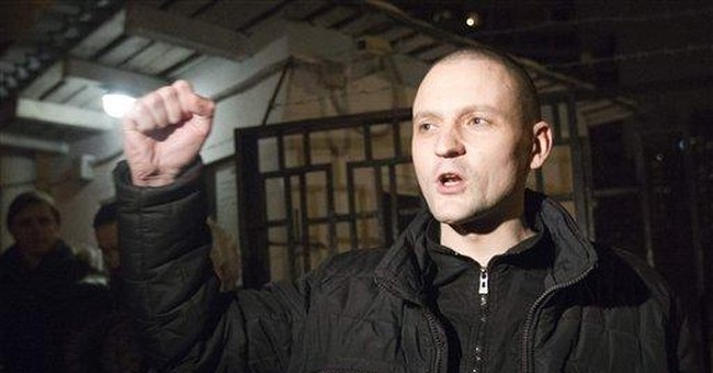 Russian protest leader freed after month in jail