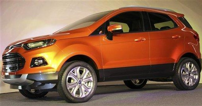 Ford unveils Brazil-designed car for world market