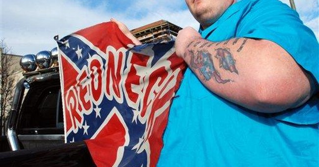 Company asks dismissal of Confederate flag case