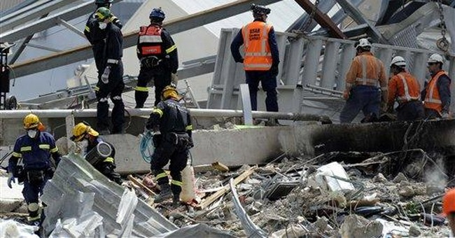 Gov't: Building toppled by NZ quake substandard
