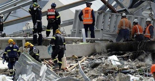 Gov't: Building toppled by NZ quake substandard
