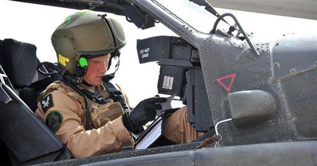 Prince Harry qualifies as Apache helicopter pilot
