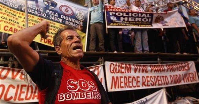 Rio police strike exposes marred institution
