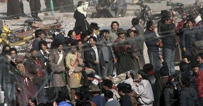 China premier meets govt-installed Tibetan cleric