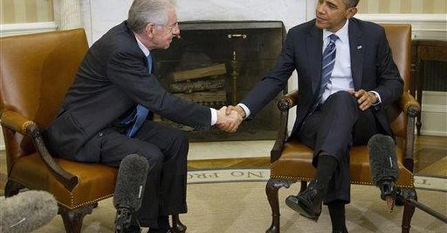 Obama praises Italian leader's economic efforts