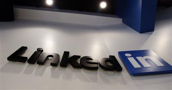LinkedIn's 4Q revenue doubles, stock soars 8 pct