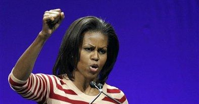 Thousands join first lady for 'Let's Move' outing