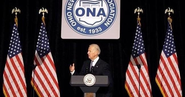 VP Biden touts US economic resiliency at Ohio stop
