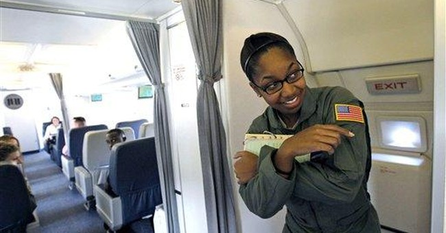 Air Force trains flight attendants for VIP trips