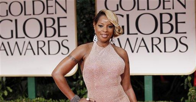 Mary J. Blige rocks at concert for charity