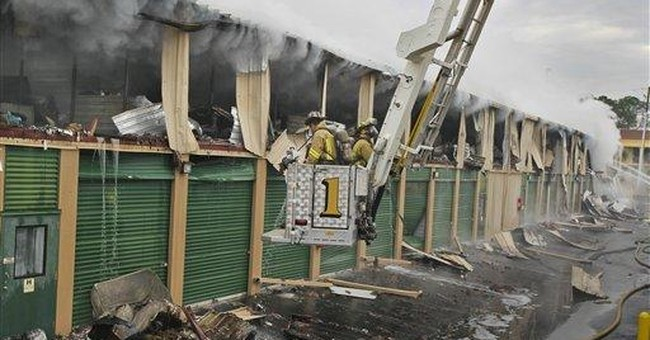 Fire might have claimed 'Gone with the Wind' items