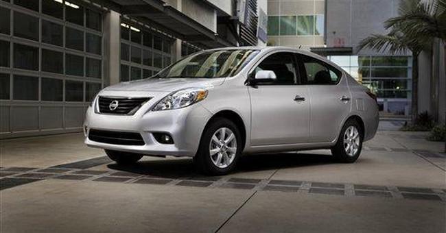 Nissan recalling 39,000 Versa small cars