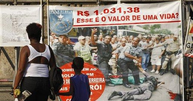 Rio calm in 2nd day of police strike