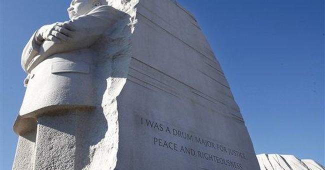 Park Service to remove inscription on MLK Memorial