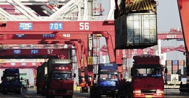 China trade falls amid weak demand, holiday