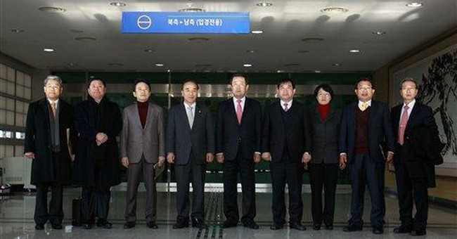 SKoreans visit jointly run factory park in NKorea