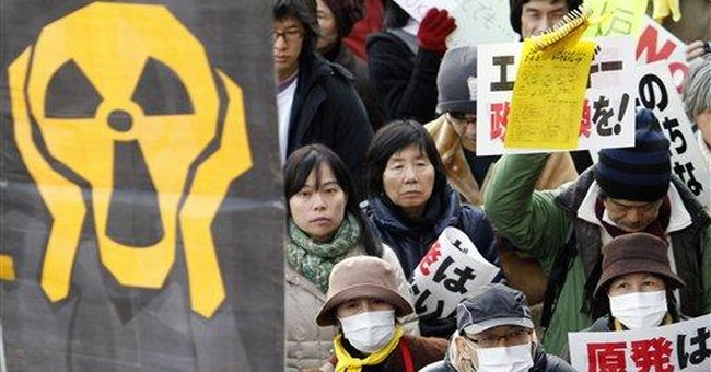 Thousands march against nuclear power in Japan