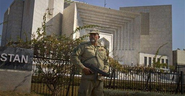 Pakistan army tries 5 officers over extremist ties