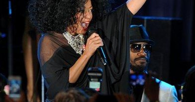 Diana Ross, Steve Jobs honored at Grammy ceremony