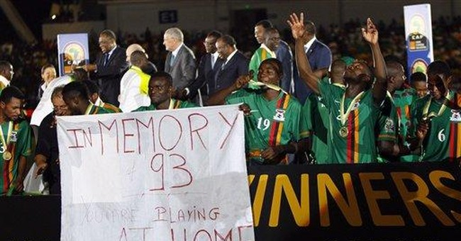 Zambia celebrates as team wins African Cup