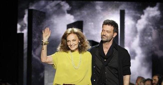 Diane von Furstenberg puzzles at NY Fashion Week