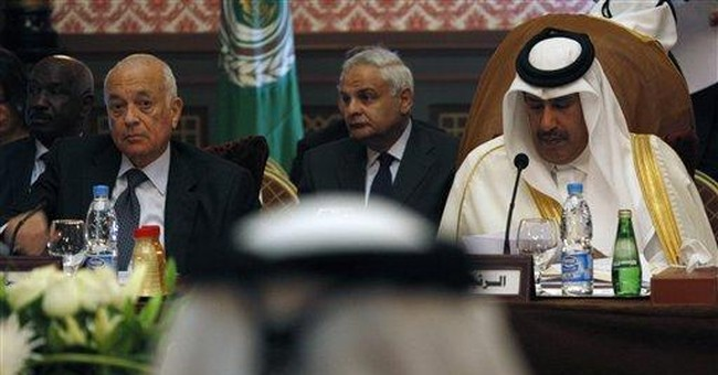 Arab League wants UN peacekeepers in Syria