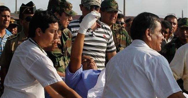 Peru: Leftist rebel leader captured wounded