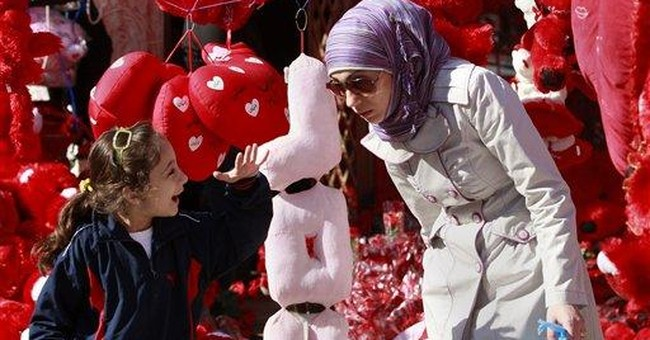 Baghdad's romance grows with Valentine's Day