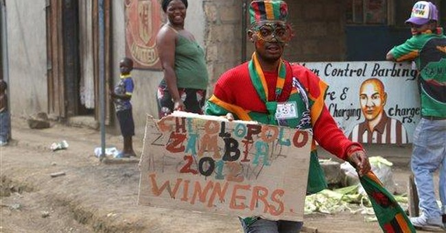 Zambia team returns home after African Cup win