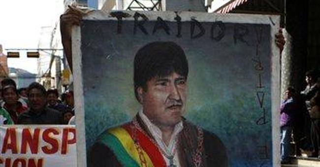 Lowlands Indians abandon Bolivia's president