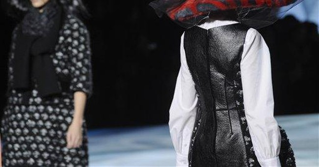 Marc Jacobs' runway lands in a mystical forest