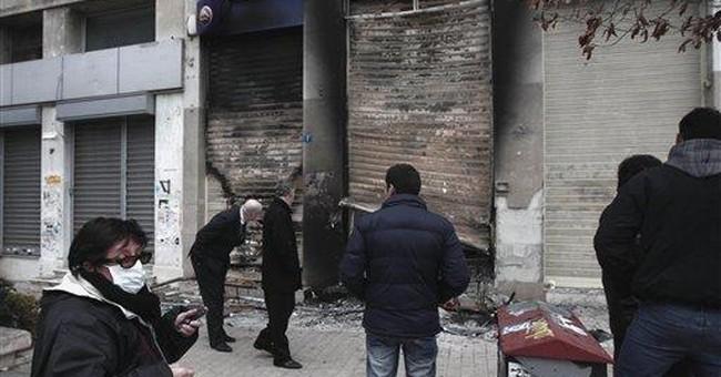 Greece surveys riot damage after austerity vote