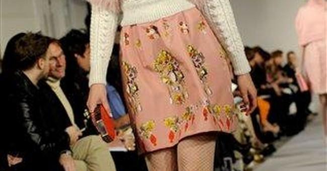 Fashion Week: High collars, longer hems, sleeves