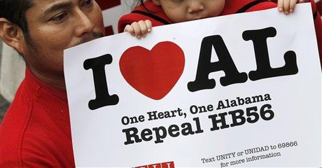 Hundreds rally against Alabama immigration law