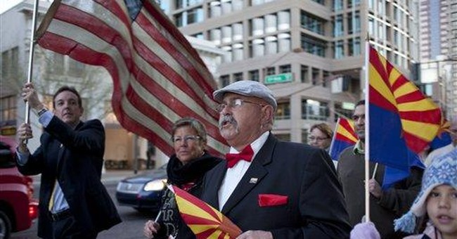 Arizona celebration marks state's 100th birthday