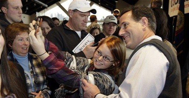 Santorum revels in sudden support _ but how deep?
