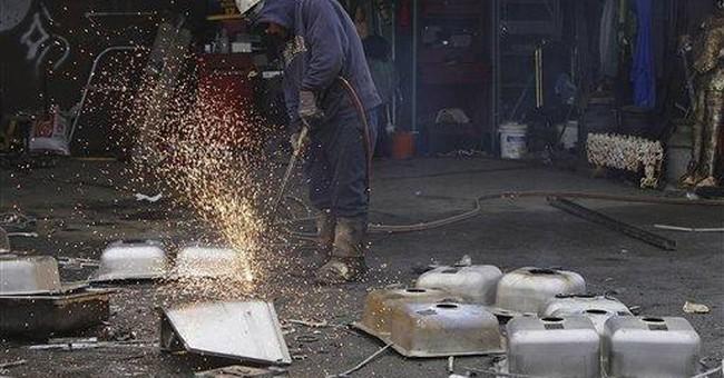 Scrap metal: One man's treasure is city's headache