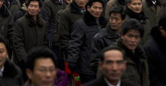 NKorea marks late leader's birthday by backing son
