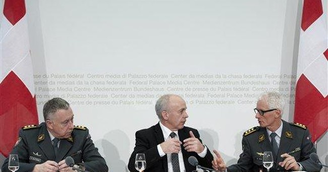 Swiss defense minister defends Swedish jet deal
