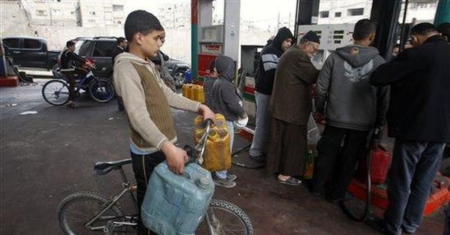 Gaza Strip fuel shortage forces power shutdown