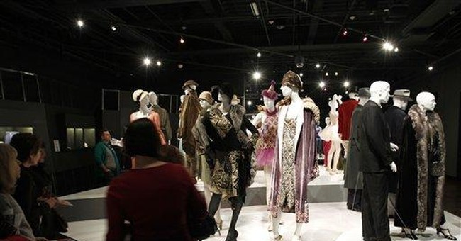 Costumes from `The Artist,' 20 other films on view