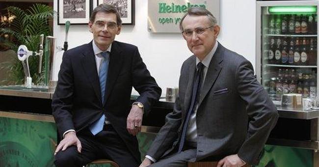Heineken 2011 earnings fall, plans cost-cutting