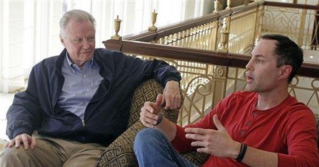 James Haven, father Jon Voight promote Texas film