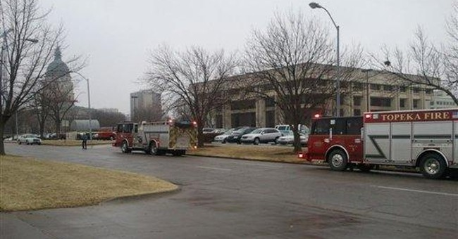 Explosives found in pickup near Kansas Statehouse