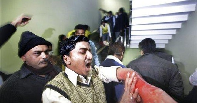Sirens wail in quake drill across Indian capital