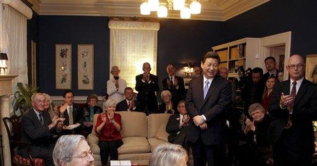 China's vice president shows personal side in Iowa
