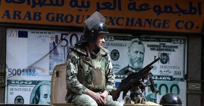 Egypt's Brotherhood backs military in US dispute